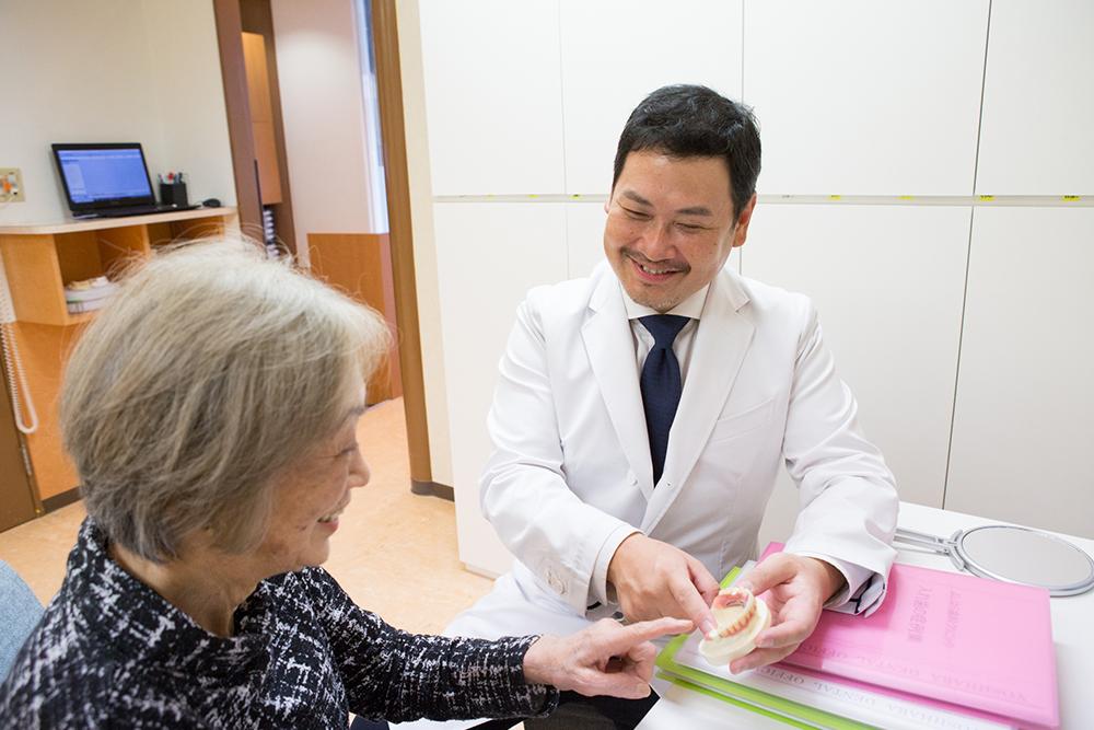 実績豊富な歯科医師